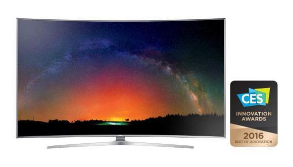 CES 2016: Smart TV de Samsung gana premio a mejor innovación