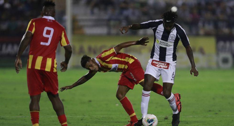 El último partido de Carlos Ascues fue el 15 de febrero frente al Atlético Grau | Foto: Cesar Campos/GEC