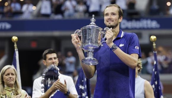 Daniil Medvedev ganó el primer Grand Slam de su carrera| Foto: EFE