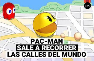 Pacman sale a recorrer las calles del mundo con el nuevo juego Pac-Man Geo