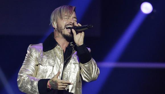 El cantante J Balvin performs durante los últimos Latin Billboard Awards Thursday, en abril pasado. (Foto: AP)