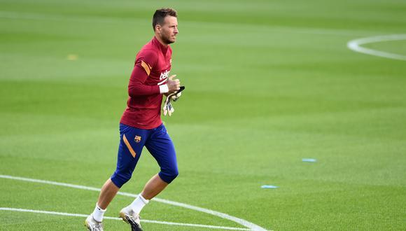 Neto llegó en el 2019 al FC Barcelona y ha jugado 17 partidos. (Foto: AFP)