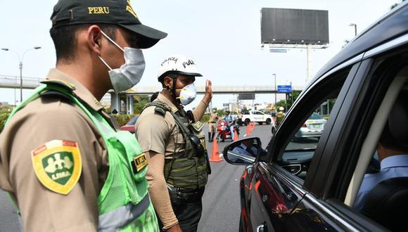 Aquellos que no respeten las nuevas medidas recibirán una multa económica. (Foto: Mininter)