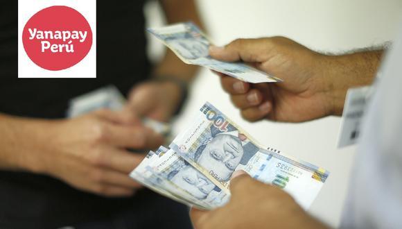 Sepa aquí todos los detalles sobre el pago del Bono Yanapay de S/ 350. (Foto)