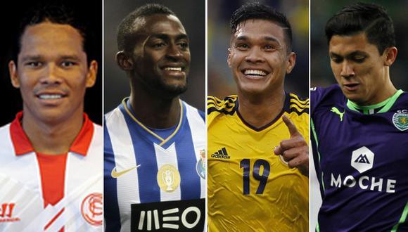 Cinco delanteros que podrían reemplazar a Falcao en el Mundial