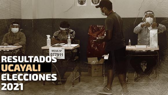 Resultados de las Elecciones 2021 en la región Ucayali, según conteo de ONPE | Diseño El Comercio