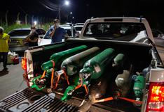 Cargamento de oxígeno enviado por Venezuela llegó a Brasil