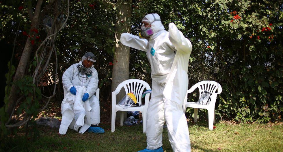 Todas las víctimas mortales de COVID-19 deben ser cremados como parte del protocolo sanitario (Foto: Hugo Curotto).