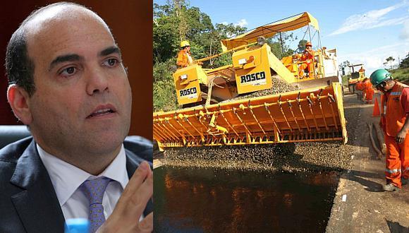 El Gobierno buscará reasignar recursos para agilizar proyectos de infraestructura, aseguró Fernando Zavala. (Fotos: Reuters/El Comercio)
