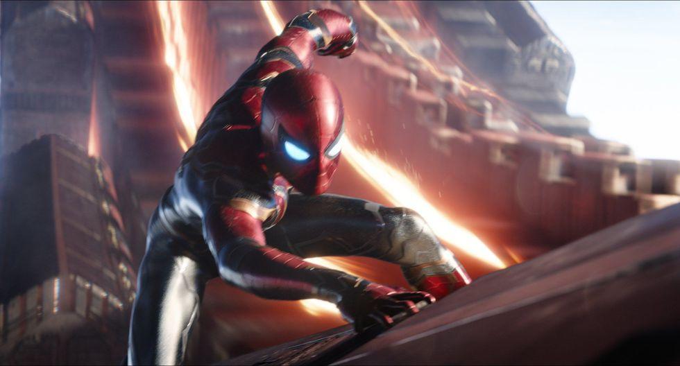 Spider-Man en "Avengers: Infinity War". (Foto: AP)