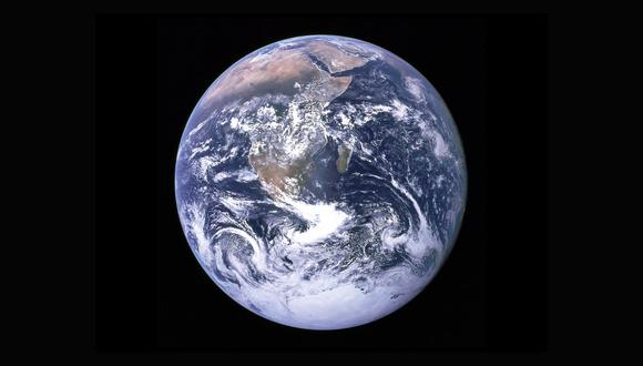 La Tierra tiene cuatro capas principales, pero esto puede cambiar. (NASA)