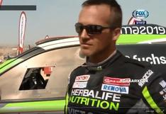 Nicolás Fuchs, feliz de completar el Dakar pese a problemas mecánicos