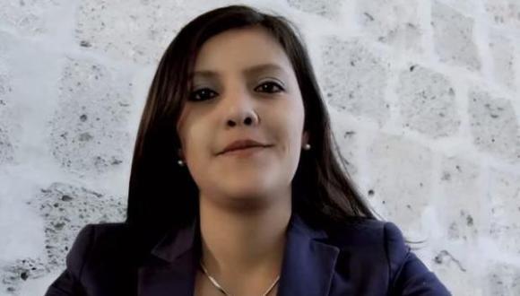 Gobernadora Yamila Osorio saluda a virtual gobernador de Arequipa