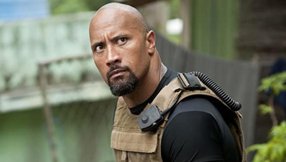 "Dwayne Johnson se integró al elenco principal como el oficial Luke Hobbs en ""Fast Five"" (Foto: Universal Pictures)"