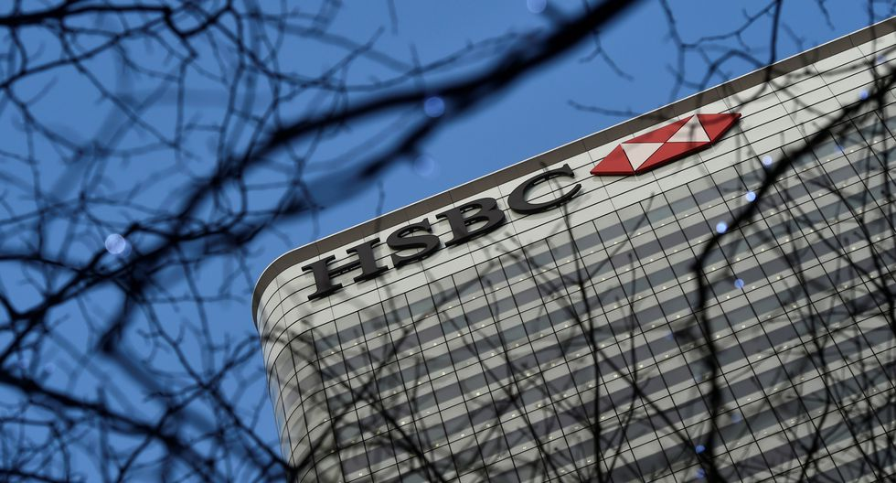 El banco británico HSBC. (Foto: Reuters)