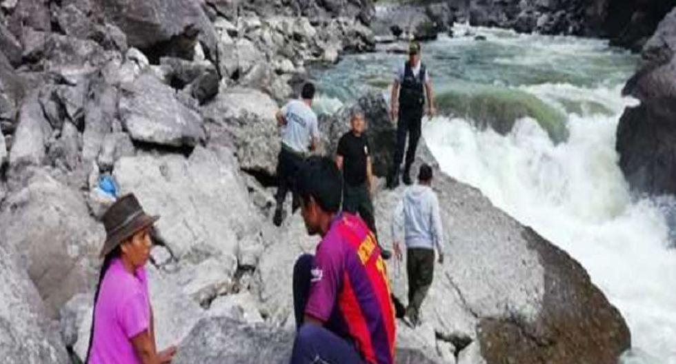 Cusco: hallan cadáver de hombre que habría desaparecido por caída de minivan