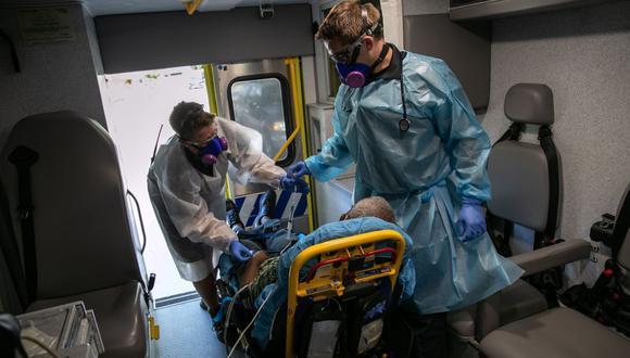 Coronavirus en Estados Unidos   Ultimas noticias   Último minuto: reporte de infectados y muertos hoy sábado 8 de agosto   Covid-19   (Foto: John Moore/Getty Images/AFP).