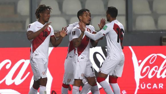 La selección peruana cerró el 2020 en el puesto 25 del Ránking FIFA. (Foto: Twitter / @SeleccionPeru)
