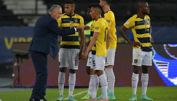 Ecuador acumuló cuatro partidos consecutivos sin conseguir triunfos, 2 por las Eliminatorias y 2 por Copa América (Foto: AFP)
