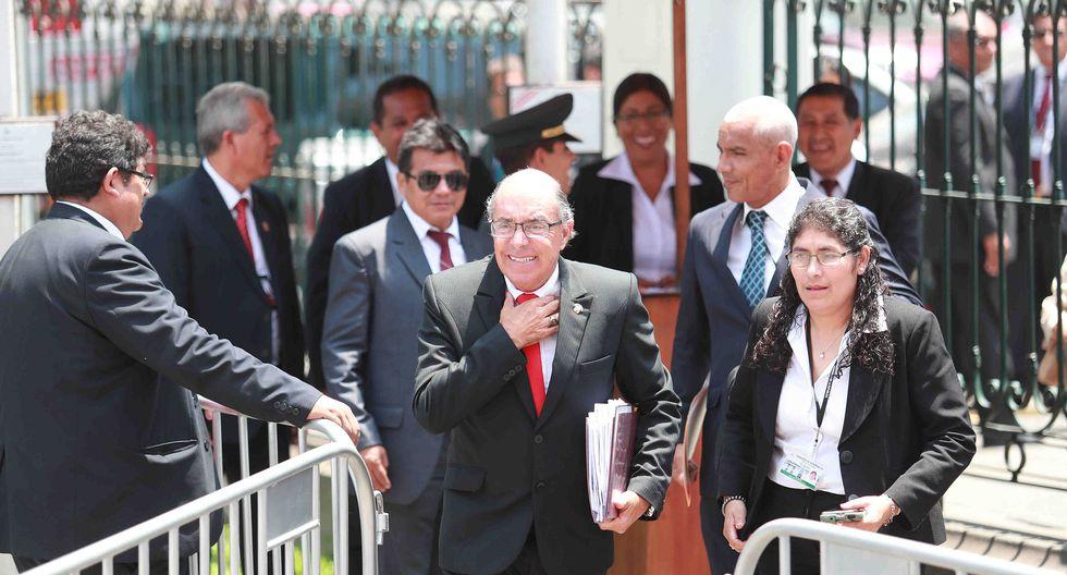 """Edwin Donayre señaló, en su momento, que no movería """"ni un pelo"""" para interferir en este proceso. (Foto: Archivo El Comercio)"""
