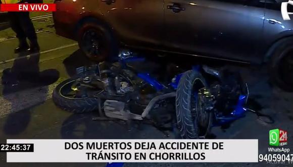 Las muertes de las personas fueron instantáneas. El conductor fue llevado a la comisaría de Villa. (24 Horas)