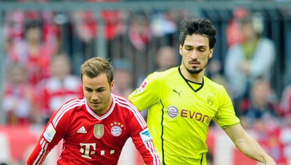 El día que Hummels criticó a Götze por irse al Bayern Múnich