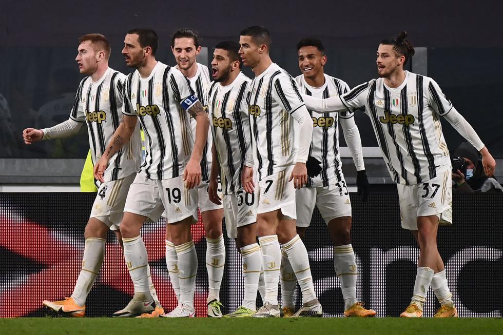 Juventus vs. Genoa: mejores imágenes del duelo por la Copa de Italia. (Foto: AFP)