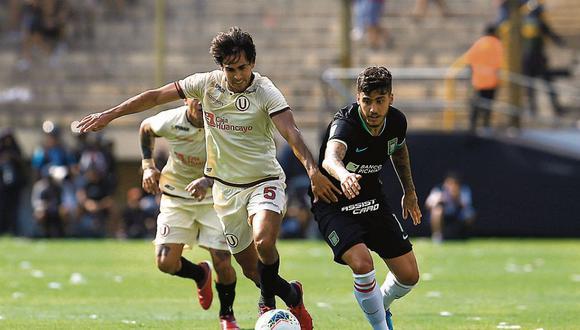 La última fecha de la Liga 1 se disputó la primera semana de marzo. Aquella jornada la cerró Universitario de Deportes con un triunfo por dos a cero sobre Alianza Lima. FOTO: JOEL ALONZO/GEC