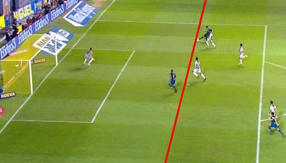 Boca vs. Banfield EN VIVO: 'Wanchope' Ábila anotó el 1-0 en posición adelantada | VIDEO. (Foto: Captura de pantalla)