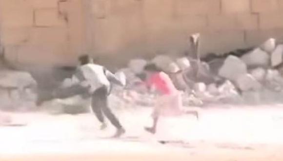 Niño héroe en Siria: Revelan farsa tras conmovedor video
