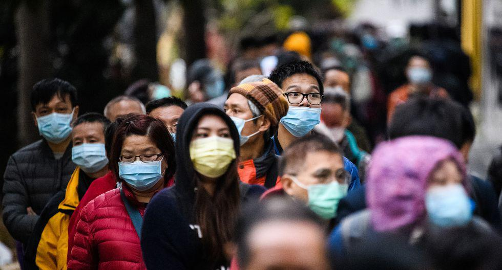 China vuelve a ver llenos sus espacios públicos. (Foto: AFP)