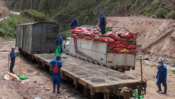 En los últimos 4 años, PeruRail ha recogido 15 000 toneladas de residuos.