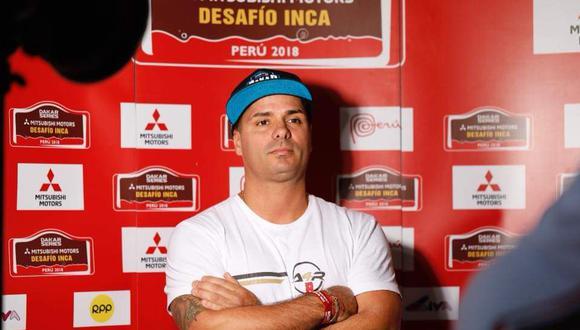 Para el público, Fernando De Olazábal había formado una imagen de experimentado piloto de autos. En el 2018, se inscribió para participar en el equipo peruano del Dakar.