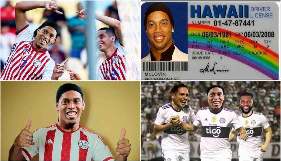 Los divertidos memes de Ronaldinho por ingresar a Paraguay con un pasaporte falso. (Foto: Facebook y Twitter)
