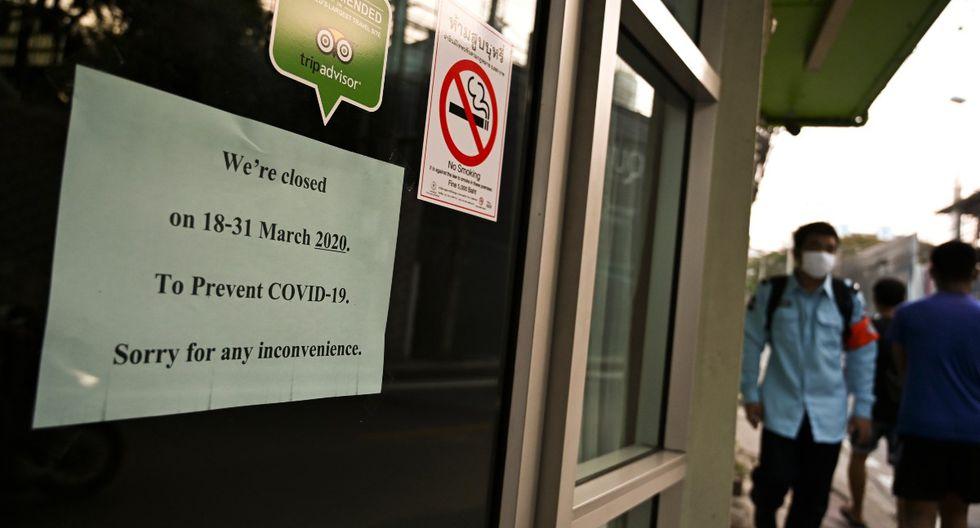Tailandia se encuentra en cuarentena, pero ha endurecido sus normas tras el último brote de covid-19. | Foto: AFP