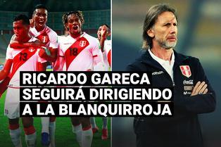 Juan Carlos Oblitas dejó claro el futuro de Ricardo Gareca al mando de la selección peruana