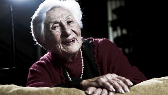 La reconocida actriz Élide Brero falleció el 1 de julio a los 99 años. (Foto: Johanna Valcarcel/GEC)