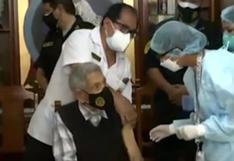 Callao: héroe de guerra contra el Ecuador recibió segunda dosis contra el coronavirus