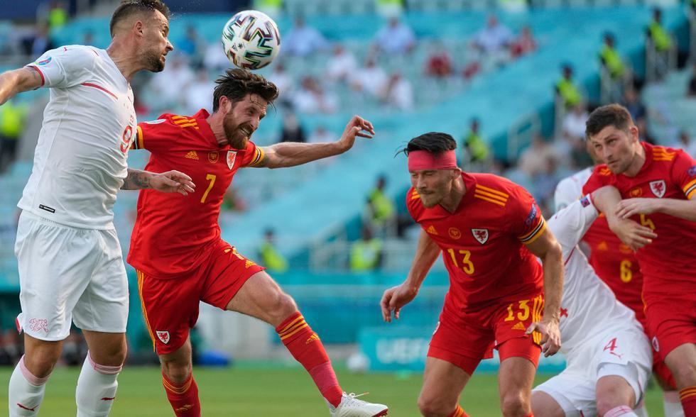 Gales vs. Suiza en directo por la Eurocopa 2020. Foto: AFP