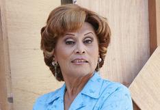 """Irma Maury reveló la razón por la que dejó de interpretar a Doña Nelly en la serie de """"Al fondo hay sitio"""""""