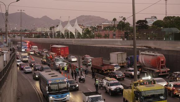 El exceso de velocidad es uno de los principales factores en la ocurrencia de accidentes de tránsito. (Foto: Cesar Zamalloa)