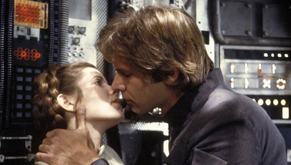 """Star Wars"": Carrie Fisher tuvo un romance con Harrison Ford"