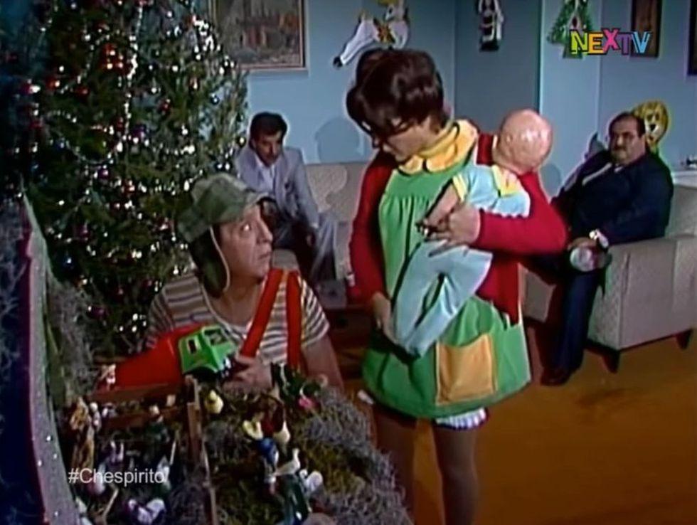 Don Ramón ya no estaba para Navidad (Foto: El Chavo del 8 / Televisa)