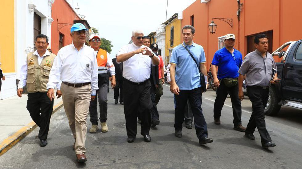Papa Francisco: seguridad del Vaticano visitó Trujillo. (Foto: Johnny Aurazo)