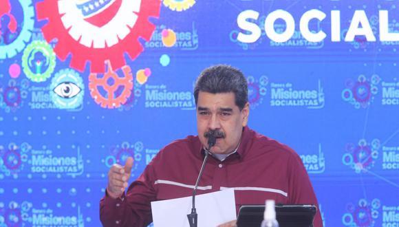 El presidente de Venezuela, Nicolás Maduro, anunció que la próxima semana arribarán al país las primeras 100.000 dosis de la vacuna rusa contra el coronavirus covid-19, Sputnik V. (AFP).