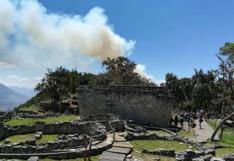Kuélap: se reanuda el ingreso de turistas a la fortaleza tras extinción de incendio   FOTOS