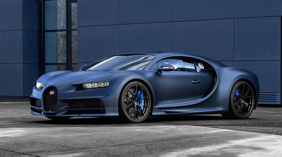 Por el momento no se ha revelado el precio del 110 ans Bugatti. Sin embargo, se espera que supere los US$ 3 millones del Bugatti Chiron Sport. (Fotos: Bugatti).