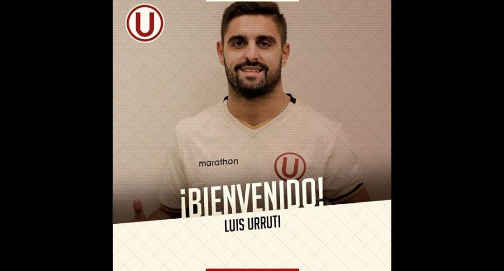 Luis Urruti procedente de River Plate de Uruguay. (Foto: Twitter)