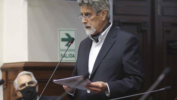 Sagasti adelantó que la bancada del Partido Morado no respaldará la nueva moción de vacancia contra el presidente Martín Vizcarra. (Foto: Congreso)
