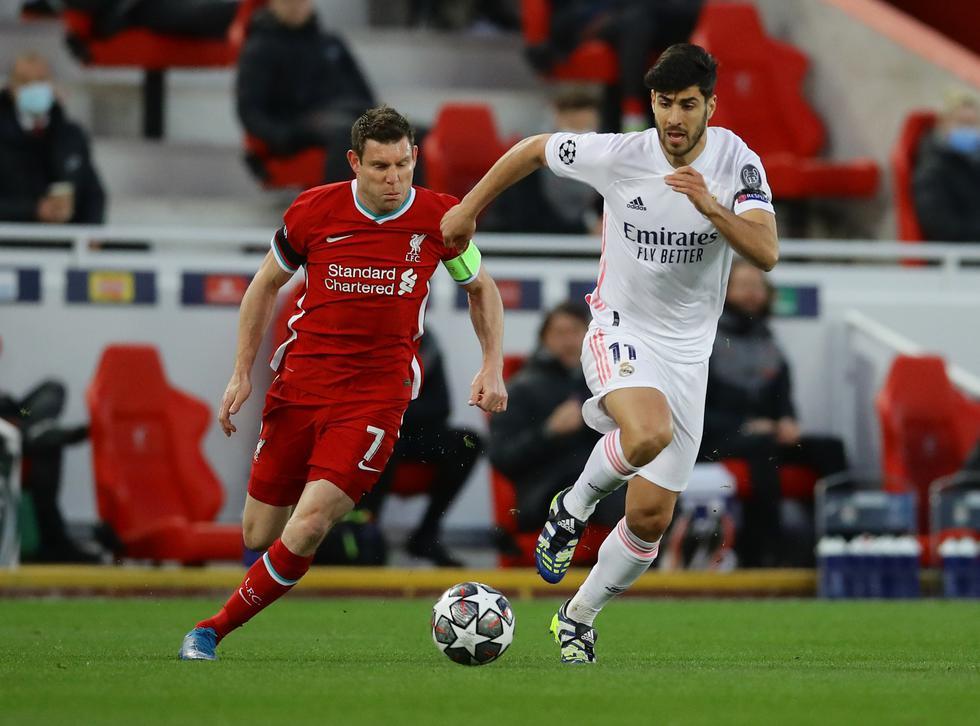 Real Madrid enfrentó al Liverpool por la Champions League